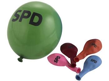 SPD Luftballons farblich sortiert, 500 Stück = 1 VPE (Staffelpreise beachten) (Art.-Nr. 1001)