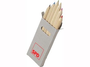 SPD Buntstifte, 10 Päckchen = 1 VPE (Staffelpreise beachten) (Art.-Nr. 1016)