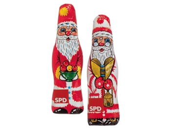 SPD Weihnachtsmann, 140 Stück (Art.-Nr. 1018)