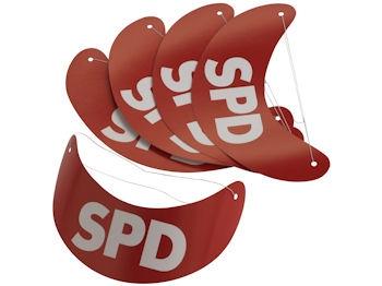 SPD Sonnenblenden, 100 Stück (Art.-Nr. 1052)