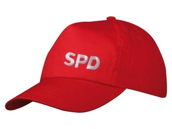 SPD Baseballmütze mit Stickerei, 1 Stück (Art.-Nr. 1082)