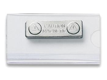 SPD Namensschild mit Magnet, 1 Stück = 1 VPE (Staffelpreise beachten) (Art.-Nr. 1116)