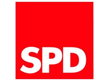 SPD Logo für Fensterscheibe, 1 Stück (Art.-Nr. 1131)
