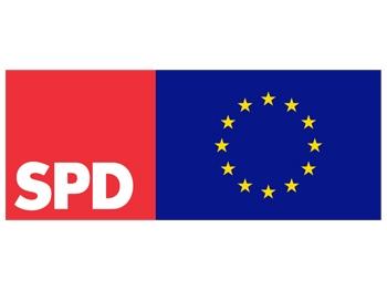 EUROPA SPD Aufkleber, 50 Stück = 1 VPE (Art.-Nr. 1139)