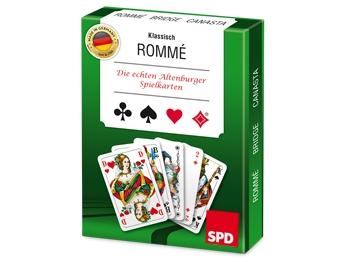 SPD Rommé-Spiel, 1 Stück (Art.-Nr. 1228)