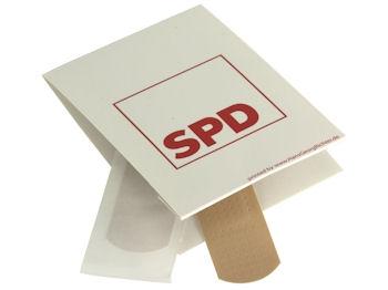 SPD Pflasterbriefchen, 10 Stück = 1 VPE (Staffelpreise beachten) (Art.-Nr. 1274)