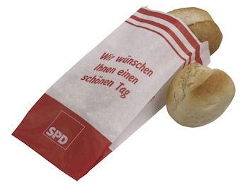 SPD Brötchentüten, 100 Stück = 1 VPE (Staffelpreise beachten) (Art.-Nr. 1281)