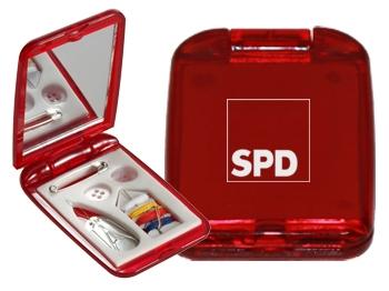 SPD Nähset mit Spiegel, 10 Stück (Art.-Nr. 1295)