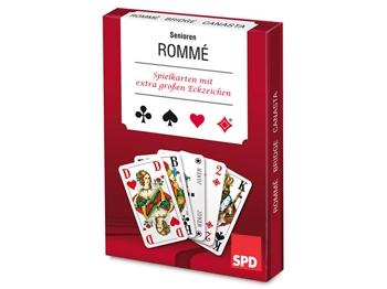 SPD SENIOREN-Rommé-Spiel, 1 Stück (Art.-Nr. 1322)
