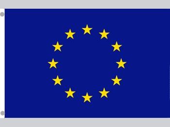 EUROPA Polyesterfahne, 1 Stück = 1 VPE (Art.-Nr. 1341)