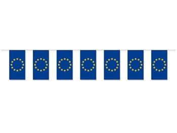 EUROPA Fahnenkette aus Papier, 1 Stück = 1 VPE (Art.-Nr. 1342)