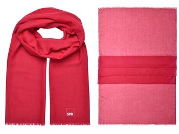 SPD Schal, 180 x 75 cm, rot, 1 Stück (Art.-Nr. 1357)