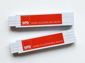 SPD Meterstab 1m, KEINEN MILLIMETER NACH RECHTS!, 10 Stück (Art.-Nr. 1359)