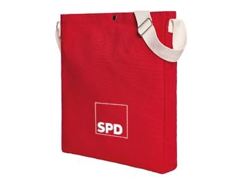 SPD Umhängetasche aus Baumwolle, 1 Stück (Art.-Nr. 1371)