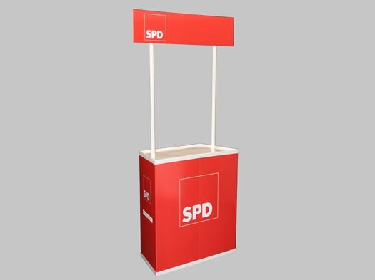 SPD Infostand, 1 Stück (Art-Nr. 1375)