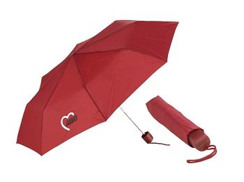 AWO Taschenschirm rot, 1 Stück (Art.-Nr. 2100)