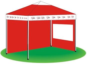 AWO Der Scheren-Pavillon 3 x 3 m, 1 Stück (Art.-Nr. 2204)