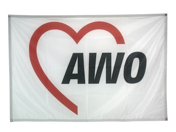 AWO Banner ECOFLAG, 1 Stück (Art.-Nr. 2266)