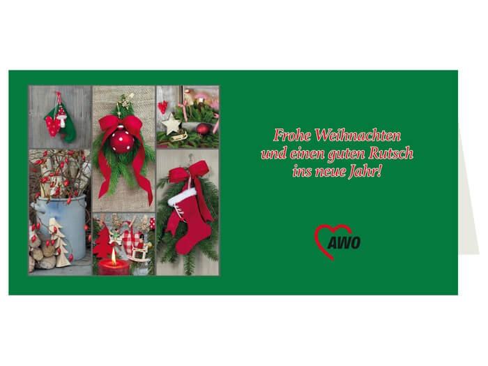 AWO Weihnachtskarten, 100 Stück (Art.-Nr. 2278)