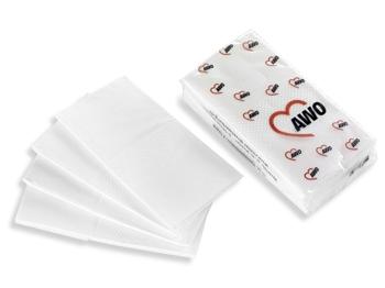 AWO Papiertaschentücher, 10 Päckchen = 1 VPE (Art.-Nr. 2286)