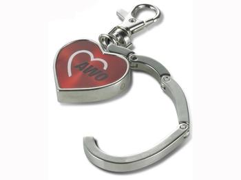 AWO Handtaschenhalter + Schlüsselanhänger, 1 Stück (Art.-Nr. 2313)