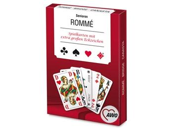 AWO SENIOREN-Rommé-Spiel, 1 Stück (Art.-Nr. 2362)