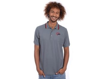 AWO Polohemd, grau, 1 Stück (verschiedene REST-Größen lieferbar) (Art.-Nr. 2389)