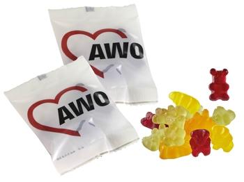 AWO Fruchtgummibärchen VEGAN, 50 Stück = 1 VPE (Staffelpreise beachten) (Art.-Nr. 2409)