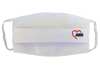 AWO Mund-Nasen-Maske, weiß, 1 Stück = 1 VPE (Art.-Nr. 2430)