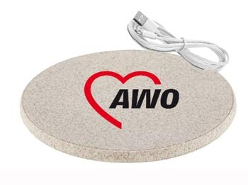 AWO Ladestation Wireless Charger, 1 Stück (Art.-Nr. 2439)