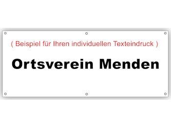 SPD Der Scheren-Pavillon-Werbebanner, 1 Stück (Art.-Nr. 3034)
