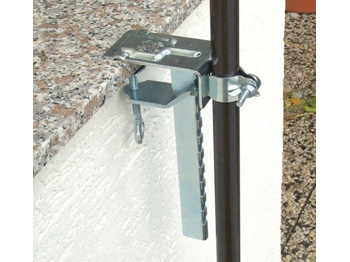 Metall-Balkonklemme (für Sonnenschirm 2 m Ø!), 1 Stück (Art.-Nr. 3087)