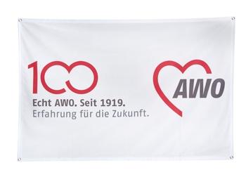AWO 100-Jahre-Banner ECOFLAG, 1 Stück (Art.-Nr. 62266)