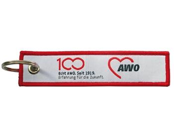 AWO 100-Jahre-Schlüsselanhänger, 10 Stück (Art.-Nr. 62298)