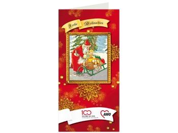 AWO 100-Jahre-Weihnachtskarten nostalgisch, 50 Stück (Staffelpreise beachten) (Art.-Nr. 62397)