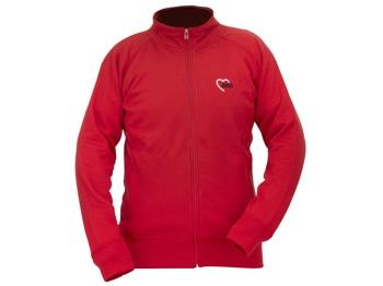 AWO Sweat-Jacke, rot, 1 Stück (verschiedene Größen lieferbar) (Art.-Nr. 2329)
