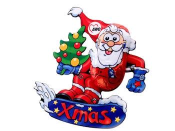AWO Snowboard-Weihnachtsmann, 60 Stück (Art.-Nr. 2220)
