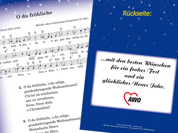 10 Besten Weihnachtslieder.Awo Liederheft Die Guten Alten Weihnachtslieder 10 Stück 1 Vpe Staffelpreise Beachten Art Nr 2170