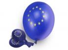 EUROPA Luftballons, blau, 500 Stück = 1 VPE (Art.-Nr. 1117)