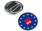 EUROPA SPD Button, 10 Stück = 1 VPE (Art.-Nr. 1343)
