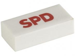 SPD Radiergummi, 10 Stück (Art.-Nr. 1023)