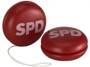 SPD Jojos aus Kunststoff, 100 Stück (Art.-Nr. 1036)