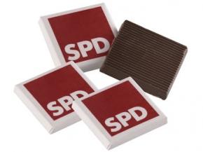 SPD Schokoladen Täfelchen, 2,5 kg (Art.-Nr. 1072)