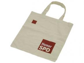 SPD Leinenbeutel mit Sonderdruck, 250 Stück = 1 VPE (Staffelpreise beachten) (Art.-Nr. 1079SD)