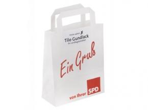 SPD Papiertragetasche mit Sonderdruck, 500 Stück (Art.-Nr. 1085SD)