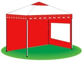 SPD Der Scheren-Pavillon 3 x 3 m, 1 Stück (Art-Nr. 1122)