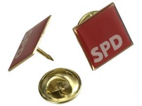 SPD Pin, 1,4 x 1,4 cm, 10 Stück (Art.-Nr. 1143)