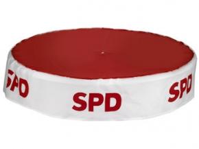 SPD Tischdecke 92 cm Ø, 1 Stück (Art.-Nr. 1173)