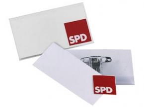 SPD Namensschild, 1 Stück = 1 VPE (Staffelpreise beachten) (Art.-Nr. 1209)