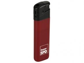 SPD Elektronik-Feuerzeug mit Sonderdruck, 500 Stück = 1 VPE (Staffelpreise beachten) (Art.-Nr. 1247SD)